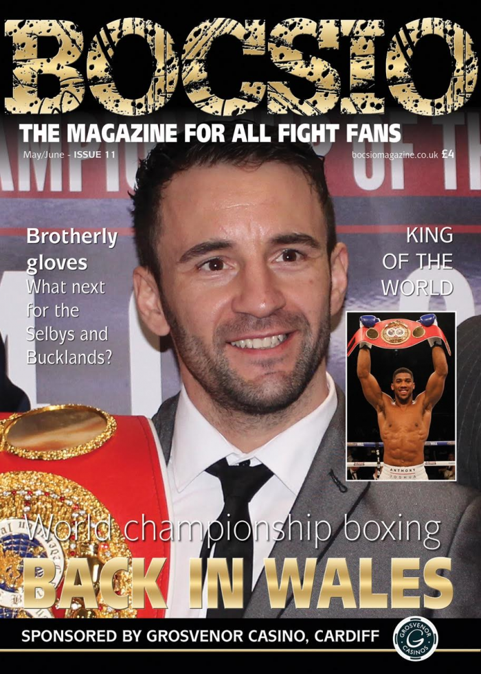 Boxing Bocsio, MAY/JUNE 2016, ISSUE 11