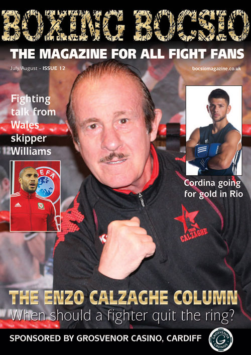 Boxing Bocsio, JUL/AUG 2016, ISSUE 12
