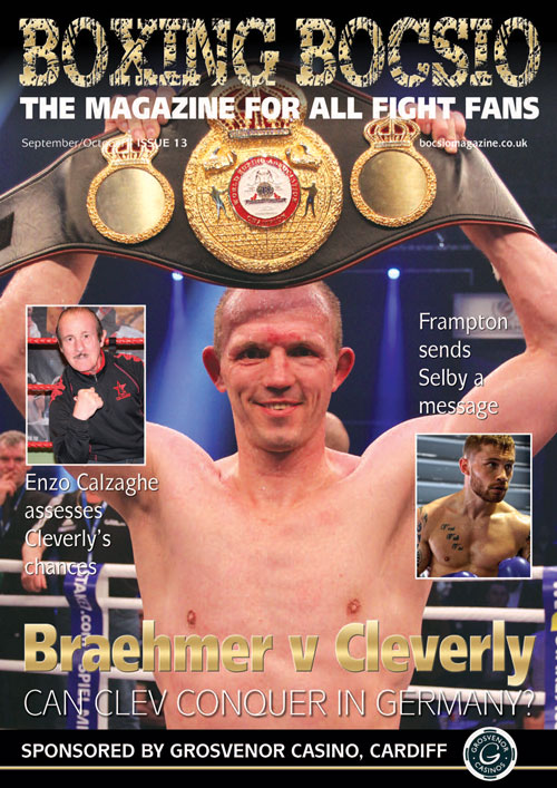 Boxing Bocsio Sept/Oct 2016