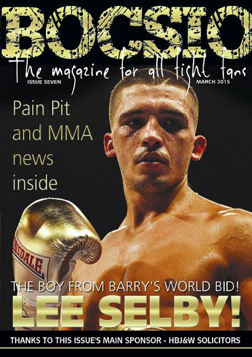 Boxing Bocsio Sept/Oct 2015