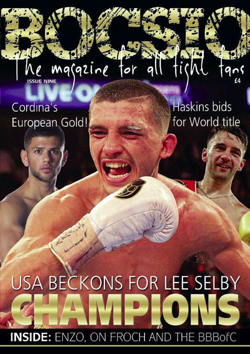 Boxing Bocsio Jan/Feb 2016