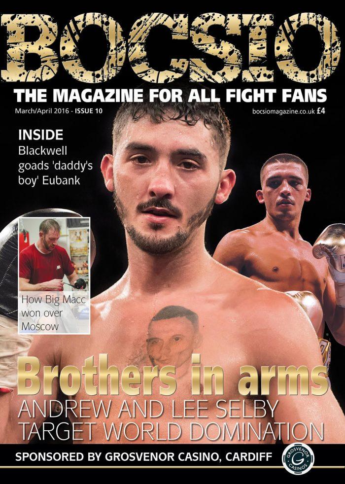 Boxing Bocsio, MAR/APR 2016, ISSUE 10